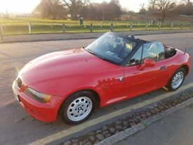 BMW Z3 1.9 1997 RED CONVERTIBLE ROADSTAR