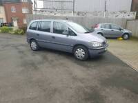 7 seats Vauxhall Zafira with 12 months mot ,ideal for family ,px welcome