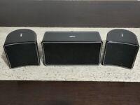Jamo Speakers 2x Satellite A10S & Centre A10C Black