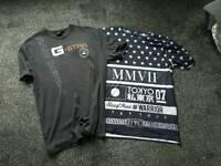 Soulstar and G star T shirts