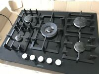 Siemens IQ500 5-burner gas hob UK model good condition fully working, 18 months old