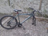 Mountain Bike. In great condition but needs a new front wheel.