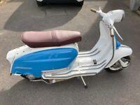 LAMBRETTA Li150 SERIES 3, 1964 Blue & White, Fully restored. (£4,000)