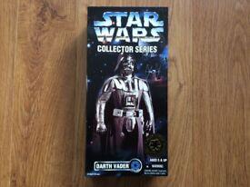 "Star Wars Darth Vader 12"" collector series"