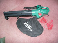 Qualcast 2800W Blower Vac - Used only once, bought in error. As new. Cost £44, sell for £30.