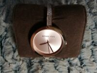 Michael Kors Blakely Pavé Rose Gold-tone Watch