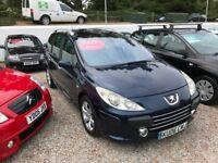 Peugeot 307sw 1.6 diesel 12 Months MOT + 3 Months Warranty * Reduced *