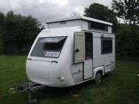 Pop top caravan for sale 1996. Great condition. Easy to tow 650kg. £3295