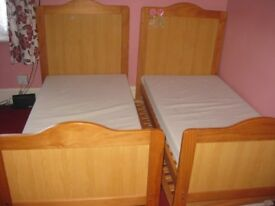 cot bed- birth to 7 years