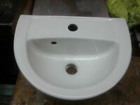 Bathroom Sink (Small) Warneton Roma White Ceramic