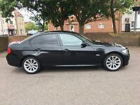 BMW 3 Series 2.0 320d SE 4dr * Manual * Black * Excellent Condition * MOT Sept 17 * 106,000 Miles