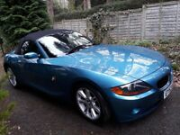 BMW Z4 Auto 2.5 petrol convertible in excellent condition
