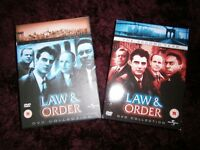 Law and Order Dvd Collection The First And Second Year 44 Episodes