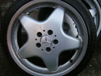 Mercedes wheels 18""