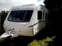 2007 Abbey Freestyle 540 4 berth caravan with Isabella commodore awning