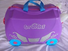 Trunki - Kids Suitcase - Penelope Princess - Ride On