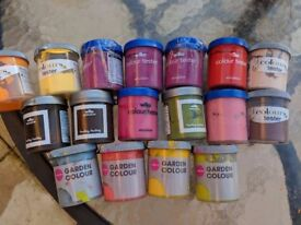 17 tester paint pots some NEW