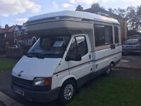 1989 AutoSleeper legend only 17ft long on Ford Transit 2.0 petrol 4 berth, owned for over 10 years