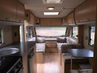 Swift Quattro 6 berth caravan Twin axle with full awning, 2008 ,motor mover & fixed bed