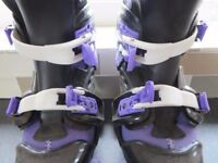 ROLLER BOOTS ADJUSTABLE SIZE 3-6
