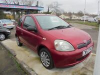 TOYOTA YARIS 998cc VVTI COLOUR COLLECTION 3 DOOR HATCH 2003-52 LOOK ONLY 86K