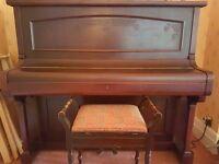 Hammond Piano and Piano Stool