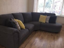 8 weeks old Sofa paid £800 pound excellent condition Tidafors left Arm corner Sofa