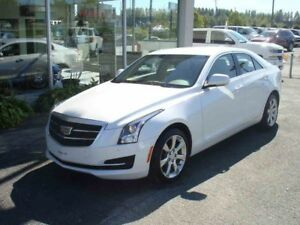 2015 CADILLAC ATS COUPE AWD LUXURY