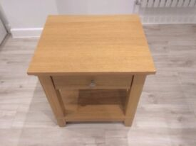 1 Wooden Bedside Table/ small table