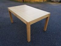 New Bently Design Oak Dining Table & 6 Leather Chars FREE DELIVERY 328