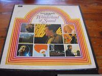 MAX BYGRAVES PRESENTS ' WONDERLAND OF SOUND' BOX SET OF 9 LP'S