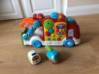 Vtech toot toot car carrier & play mat