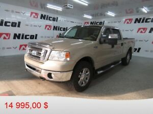 2008 FORD F-150 4WD SUPER CREW XLT
