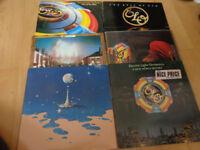 6 X retro ELO LPs