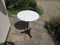 Garden Pedestal Table
