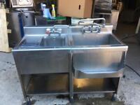 Commercial bar sink