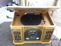 Record Player/CD/Radio