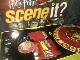 Early edition Harry Potter scene it