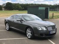 Bentley Continental GT 6.0 2010 low mileage beautiful car
