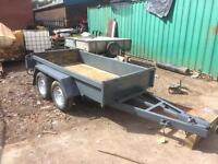 Indespension 8x4 plant trailer