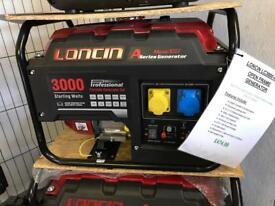 LONCIN 3000 2.3 Kw Generator