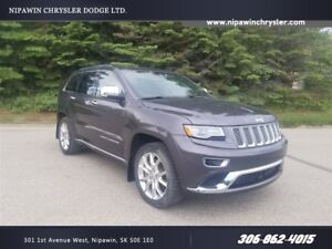 2014 Jeep Grand Cherokee Summit DIESEL  ALL SAFETY FEATURES  AWD