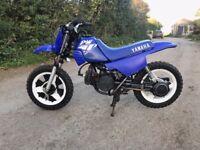 PW50 motorcross bike