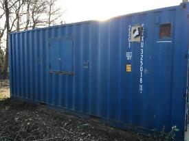 Container office 20ft X 8ft self contained