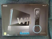 Nintendo Wii, Sports + Wii Sports Resort and Motion Plus Controller (Wii) + Wii Fit Board