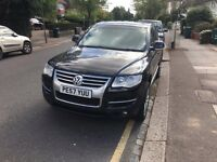 Volkswagen Touareg, 2.5 Diesel TDi Altitude, Automatic, 57 Plate, 1 former owner, leather interior