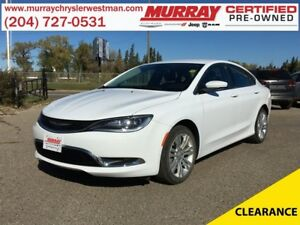 2016 Chrysler 200 Limited *Backup Camera* *Heated Cloth*