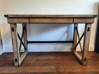 Rustic grey desk - excellent condition