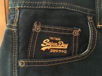 Super Dry Vintage Denim Shorts 36W