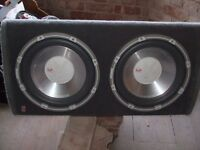 Fli big box speakers for car.. POWERFUL !!!!!
